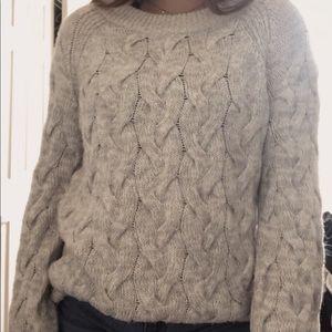 Women's Grey sweater Dress